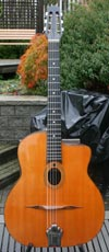 1974 Jacques Favino 14 Fret Oval Hole  #352 (Indian Rosewood Back and Sides)  GREAT CONDITION!!