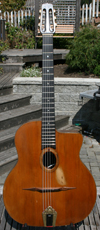 1976 Jacques Favino 14 Fret Oval Hole Guitar with Bigtone Pickup and K&K Internal Mic (Modele #10 -