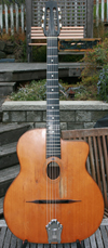 1976 Jacques Favino 14 Fret Oval Hole Guitar with Bigtone Pickup (Modele #10 - Serial #518) TKL Hard
