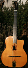 Jean Barault 2009 Selmer style Oval Hole Guitar