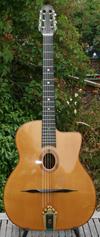Jean Barault 2009 modèle Biréli Lagrène Oval Hole Guitar ***SOLD!!!***