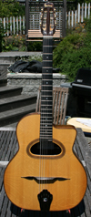 2004 Jean-Pierre Favino 14 Fret D Hole Guitar with TKL Hardshell Case   ***SOLD!!!***