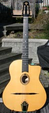 2009 Manouche Latcho Drom OR-130 Oval Hole, Solid Indian Rosewood back and sides, 14 Fret Guitar