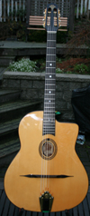Manouche Latcho Drom MAH-110 Oval Hole, Solid Mahogany back and sides, 14 Fret Guitar
