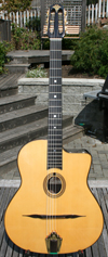 Manouche Latcho Drom OR-130 Oval Hole, SOLID Indian Rosewood back and sides, 14 Fret Guitar (Asian m