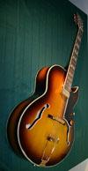 Manouche ES 165 Guitar w/Hiscox Hard Shell Case