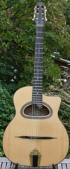 Maurice Dupont 2008 MDC-100 D Hole Guitar (Mahogany Back and Sides) with Hardshell Case