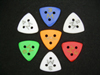 Moustache Triangular Gypsy Jazz Pick (2mm)