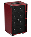 Phil Jones Bass Compact 8 Extension Cabinet with Cover RED