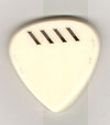 Red Bear Trading Tortis Style Pick - Style B Ivory 4.5mm with grip