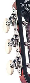Saga Gitane Deluxe Tuners Nickel