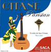Saga Gitane Parisian Strings ''Blue Label'' (1 set): 10 Loop End