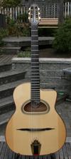 2008 Shelley Park Modèle Avance 14 Fret D Hole Guitar ***SOLD!!!***