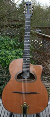 2001 Shelley Park Elan Short Scale 14 Fret D Hole Guitar (Serial #72)with Hardshell Case ***SOLD!!!*
