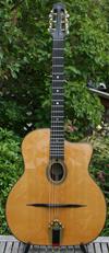 2003 Shelley Park Montmartre 14 Fret Oval Hole Guitar (Serial #117) Hardshell Case ***SOLD!!!***