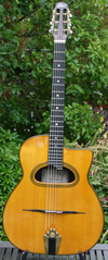 Stefan Hahl 2008 Gitano D Hole Guitar (Indian Rosewood Back and Sides) with Hardshell Case