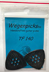 Wegen TF 140 Picks (2 Pack) (Black)
